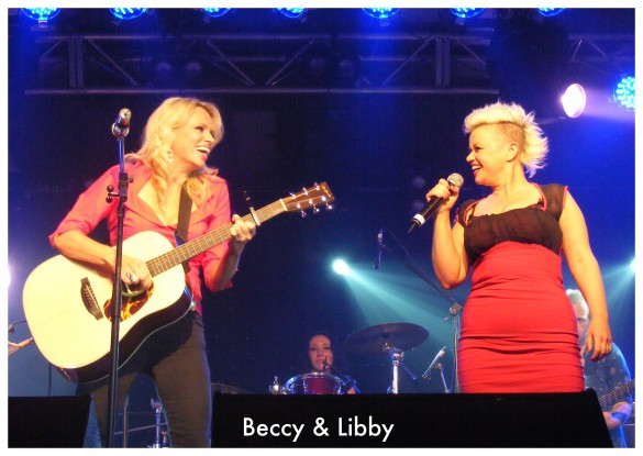 Beccy and Libby 2013